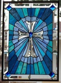 Stained glass window hanging 1
