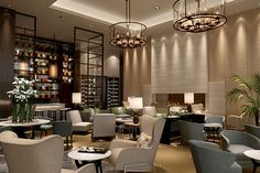 Leading Hotels of The World Welcomes Palace Hotel Tokyo in May Hotel Lounge, Bar Lounge, Lobby Lounge, Palace Hotel, Hotel Lobby, Lobby Bar, Lounge Design, Public Hotel, Hotel Reception
