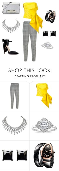"""Sans titre #21"" by salmanadou ❤ liked on Polyvore featuring Alexander Wang, Rubin Singer, Witchery, Bulgari and Proenza Schouler"