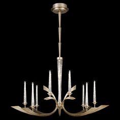 Fine Art Lamps Crescents Metal Chandelier