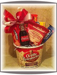 Spa pamper gift baskets tranquility spa basket design it holiday bazaar basket themes movie theater theme movie gift basket with theater passes for raffle prize solutioingenieria Image collections