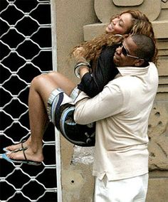Beyonce and Jay Z. Seriously they are they are the poster couple for love.