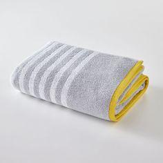 Maxi drap de bain rayé 500 g/m²
