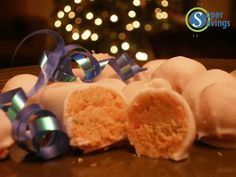 Cake Balls - an easy yummy treat! Great for New Years Eve or holiday parties! {Super Savings}