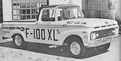 Fords Factory Drag Truck.