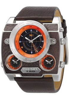 Diesel 5 Bar Sonar - One of my fav watches! Dream Watches, Luxury Watches, Cool Watches, Watches For Men, Diesel Watch, Jimmy, Expensive Watches, Watch Sale, Watches Online