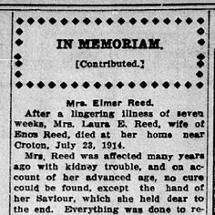 Obituaries are a great #genealogy resource. What valuable information have you found?