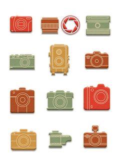 Nuskina: Cámaras imprimibles gratis para manualidades, collage, scrapbooking...