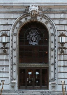 Cleveland public library doors