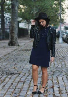 black and navy outfit | Someone Like You