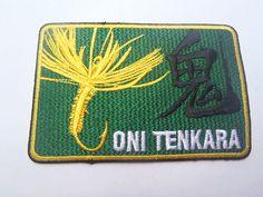 Tenkara no Oni Patch - http://www.thetenkarashop.com/product/tenkara-no-oni-patch/