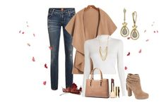 """""""Untitled #2456"""" by empathetic ❤ liked on Polyvore featuring A.L.C., Jessica Simpson, Clarins and Panacea"""