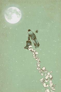 Escape - Canvas Print by Eric Fan