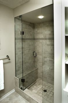 Shower Stalls for Small Bathroom | Reasonable size shower stall for a small bathroom. | For the Home