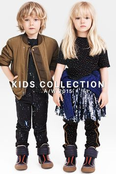Inspire them to shoot for the stars with the AW15 Kids Collection! Click through for fashionable fall fun with starry prints, space-inspired footwear, and plenty of sparkle.