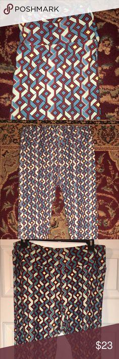 LuLuRoe Tall & Curvy Leggings LuLuRoe Leggings NWT - Tall & Curvy.  If you know the brand, you know they are SUPER comfortable!!  Tall & Curvy fits sizes 10/12 to 22/24. Colors are Maroon, 2 shades of Blue and Cream. LuLaRoe Pants Leggings