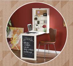 Ideal pentru spatii mici! Birou pliabil de perete   Cashback Shopping