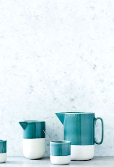 Bloesem Living | Quickstart: Casalinga AW2014 #ceramics #turquoise #home #decor #wedding @bloesemblogs