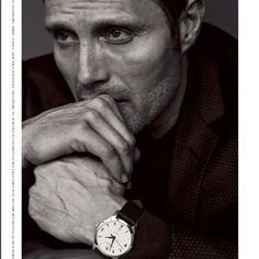 The super cool Mads Mikkelsen wore our Alliance Mechanical watch for the April issue of @maximmag. Head to swissarmy.com and get one today! #VictorinoxSwissArmy #VictorinoxWatch