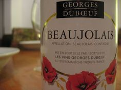 This wine, Beajolais is one of the wines I would recommend to anyone just getting into reds. There's no real strong flavours to overpower the palate. It's very smooth and lighter-bodied. The aromas are of light fruits and flower petals with a sweeter after taste. This wine could go well with any meal. I give this a 7.5/10, and would purchase again.  #wine #beaujolais #vintage