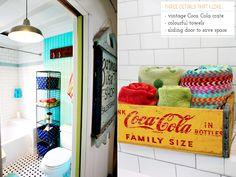 Colourful Industrial Bathroom Makeover – Bright.Bazaar