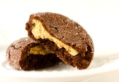 Buckeye Peanut Butter Cup Cookies by Brown Eyed Baker