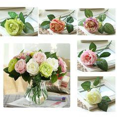 Шовкова троянда - 10 шт.в упаковці