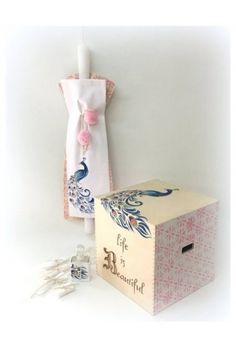 ΣΕΤ ΝΟΝΟΥ «LIFE IS BEAUTIFUL» Facial Tissue, Decorative Boxes, Gift Wrapping, Gifts, Beautiful, Gift Wrapping Paper, Favors, Gift Packaging, Presents
