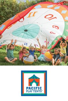 Grab a handle & join in on the fun! There's no better way to learn shapes, numbers or time than with the Tick Tock Parachute that has it all! Your little tot will be having so much fun, they won't even realize they are learning!