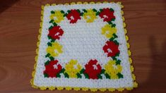 This Pin was discovered by Tah Rugs And Mats, Pot Holders, Elsa, Diy And Crafts, Knit Crochet, Crochet Patterns, Blanket, Knitting, Cross Stitch