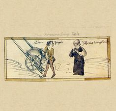 Das Volkacher Salbuch - Eine illustrierte Rechtsordnung - Auf dem Markt