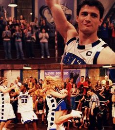 Nathan making the free throw without looking. Classic OTH