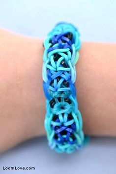 ▶Rainbow Loom ▶ Beautiful Rainbow Loom Bracelets