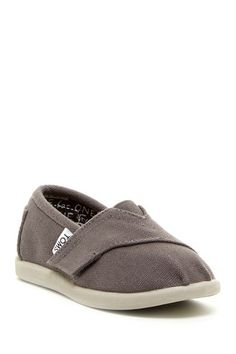 Canvas Tiny Classic Slip-On Shoe (Baby & Toddler) by TOMS on @HauteLook