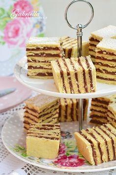 Gabriella kalandjai a konyhában :) Hungarian Cake, Cookie Desserts, Cake Cookies, Cereal, Breakfast, Recipes, Food, Sugar Sugar, Sweets