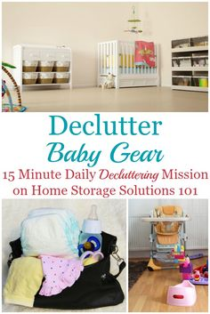 How to declutter bab