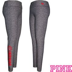 Cleveland Indians Victoria's Secret PINK® Marled Ultimate Legging - MLB.com Shop