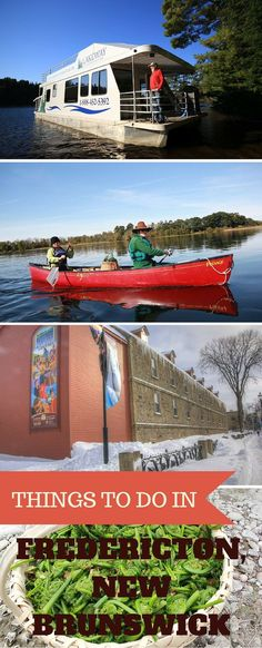 Things to do in Fredericton, New Brunswick, from wining and dining to browsing shops and getting tattooed. Cool Places To Visit, Places To Travel, Fredericton New Brunswick, Stuff To Do, Things To Do, New Brunswick Canada, Atlantic Canada, Canada Travel, Nova Scotia