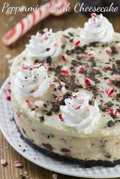 This peppermint bark