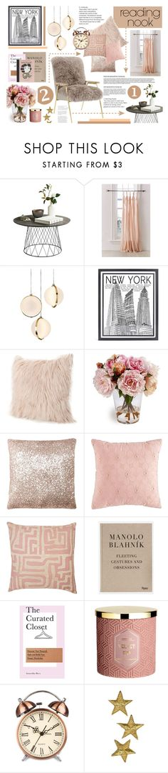 """""""Reading nook"""" by soivana ❤ liked on Polyvore featuring interior, interiors, interior design, home, home decor, interior decorating, Urban Outfitters, Baroncelli, Stephenson and Nook"""