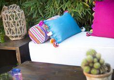 Tulmas pom pom, hand made chillmeout.com cushions