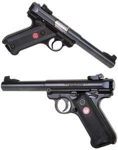 Real Guns - Ruger's Nifty Mark IV 22 LR Pistol