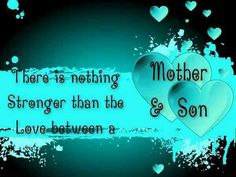 Bond between a mother and son