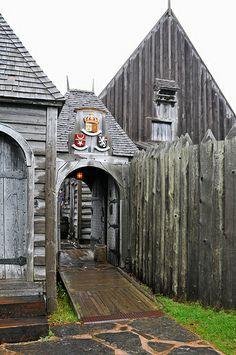 Doorway to History Port Royal National Historic Site, Nova Scotia, Canada East Coast Travel, East Coast Road Trip, Nova Scotia, Ottawa, Quebec, Medieval Village, Annapolis Royal, Acadie, Ontario