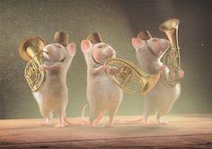 """Postkarte von """"Zur kleinen Maus"""" auf DaWanda.com Postcard with my illustration on DaWanda #illustration #postcard #cute animals, #mice, #mouse, illustration #Postkarte #Maus"""