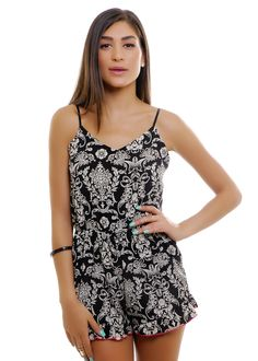 Paisley Ruffle Romper | Shop for it on www.flavour86.com