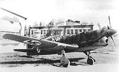 Caudron C.714 con marcas finlandesas