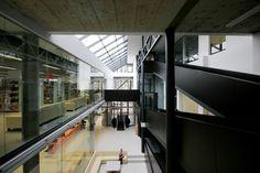 Imagem 1 de 14 da galeria de Biblioteca Pública A.& M. Miskiniai em Utena / 4PLIUS Architects. Fotografia de R.Urbakavicius