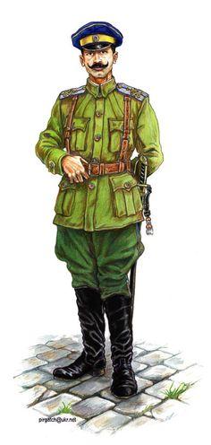 Porucznik 1 pułku kozackiego