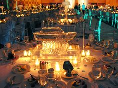 a shipshape ice sculpture  /// #boat #ship #cruise #ice #sculpture #event #wedding #party